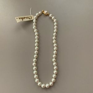 NWT Carolee pearl necklace